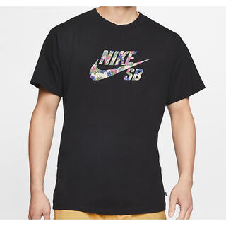 NIKE - 黒L NIKE SB メンズ ロゴ スケートボード Tシャツ
