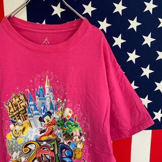 ディズニー(Disney)の【輸入古着】ディズニー Tシャツ L(Tシャツ/カットソー(半袖/袖なし))