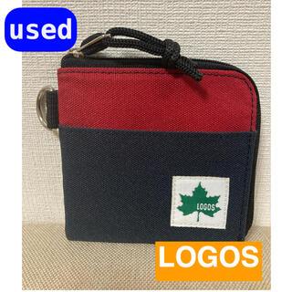 ロゴス(LOGOS)のLOGOS  ロゴス  コンパクト財布 折財布 コインケース (財布)