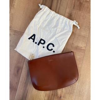 アーペーセー(A.P.C)のA.P.C クラッチバッグ ポーチ(セカンドバッグ/クラッチバッグ)