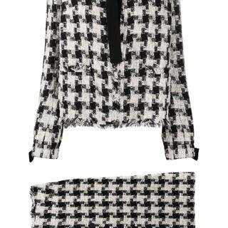 シャネル(CHANEL)のChanel ツイード スカート スーツ(スーツ)