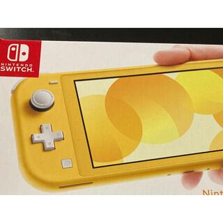 Nintendo Switch - nintendo switch lite   イエロー 本体 新品 送料無料