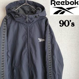 リーボック(Reebok)の90s Reebok ナイロン フリース ブルゾン リーボック ジャケット L(ブルゾン)