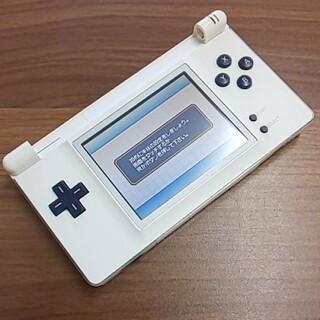 ゲームボーイアドバンス(ゲームボーイアドバンス)のゲームボーイマクロ ホワイトネイビーカスタム(携帯用ゲーム機本体)