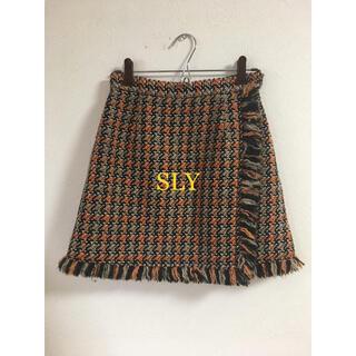 スライ(SLY)のSLY(ひざ丈スカート)