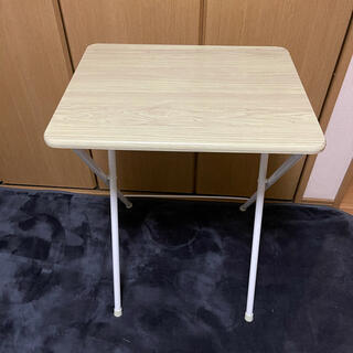 ヤマゼン(山善)の折りたたみテーブル(テーブル/チェア)