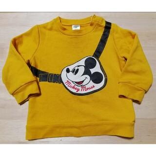 Disney - ディズニー ミッキー 薄手 トレーナー