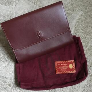 カルティエ(Cartier)の未使用 ヴィンテージ カルティエ マスト クラッチ(クラッチバッグ)