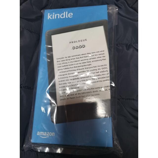 【最新】Kindle フロントライト搭載 Wi-Fi 8GB ブラック 広告つき スマホ/家電/カメラのPC/タブレット(電子ブックリーダー)の商品写真