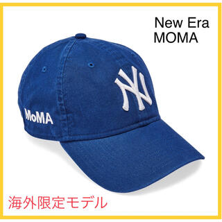 MOMA - 新品 US限定 MOMA x Yankees New Era Cap ブルー