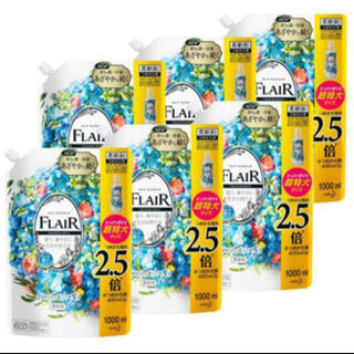 カオウ(花王)のフレアフレグランス フラワーハーモニー 超特大 詰め替え1000ml(洗剤/柔軟剤)