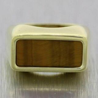 ティファニー(Tiffany & Co.)のVintage Tiffany&co 18K Tiger Eye Ring (リング(指輪))