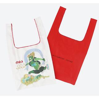 ツモリチサト(TSUMORI CHISATO)の【#みんなでバッグ】TSUMORI CHISATO BAG レッド(エコバッグ)