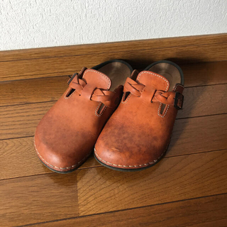 BIRKENSTOCK - ビルケンシュトック foot prints   25.0cmサイズ