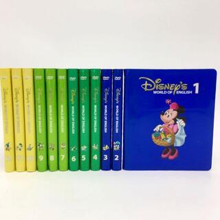 2007年購入!ストレートプレイDVD12枚 ディズニー英語システム DWE