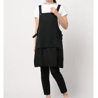フッ素加工樹脂加工 浮きポケット付き H型エプロン / キッチン雑貨(その他)