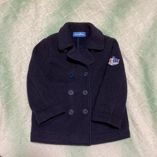 ファミリア(familiar)のファミリア 100 Pコート  コート ジャケット 紺 人気 定番 裏起毛(コート)