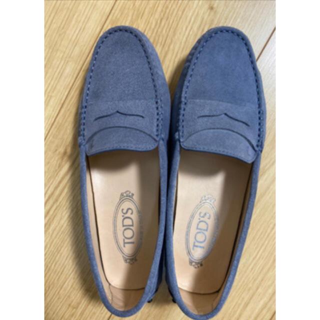 TOD'S(トッズ)の■トッズ ローファー スエード  美品 レディースの靴/シューズ(ローファー/革靴)の商品写真