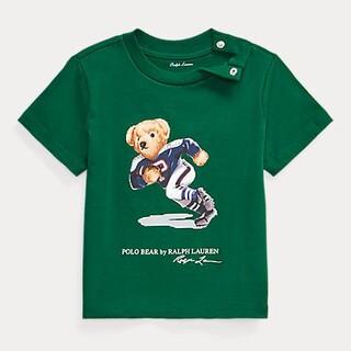 Ralph Lauren - 新品□フットボール ベア ラルフローレン Tシャツ 半袖 90