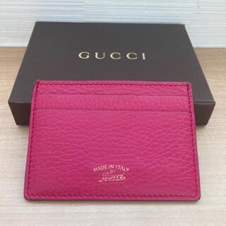 Gucci - GUCCI グッチ カードケース 美品