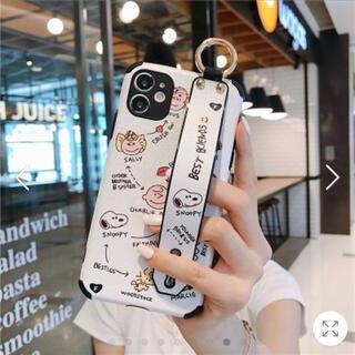 ピーナッツ(PEANUTS)のiphone12 ケース スヌーピー(iPhoneケース)