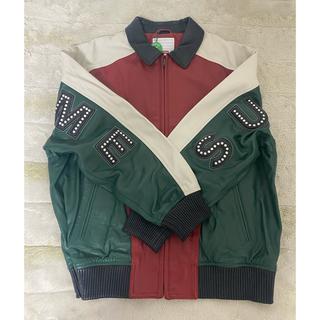 シュプリーム(Supreme)の【限定セール】supreme  arc logo leather jacket(レザージャケット)