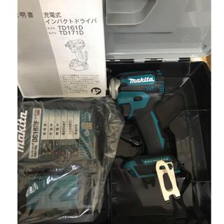 マキタ(Makita)のマキタ インパクトドライバー TD171D ブルー 新品未使用品!(工具)