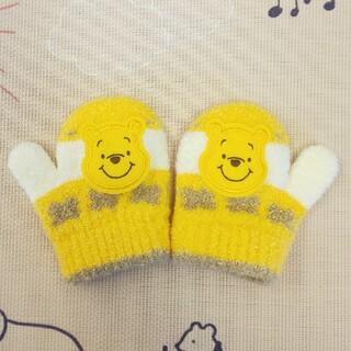 クマノプーサン(くまのプーさん)のくまのプーさん   手袋  ベビー 子ども用 幼児(手袋)