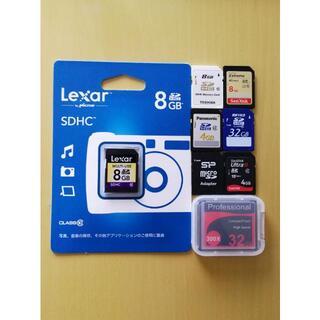 SDカード&CFカード&microSD  8枚 まとめ出品 #P216(その他)