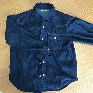 GU - デニムシャツ120