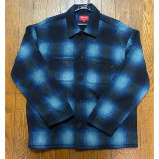 Supreme - 美品 Supreme Shadow Plaid Fleece Shirt M