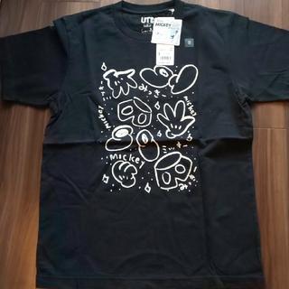 ディズニー(Disney)のしりあがり寿 ミッキーTシャツ(Tシャツ/カットソー(半袖/袖なし))