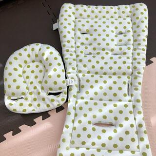 エアバギー(AIRBUGGY)のエアバギー ストローラーマット ヘッド部枕つき(ベビーカー用アクセサリー)