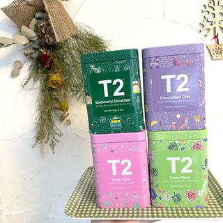 《新品未開封》T2 ティーツーの紅茶 1缶あたり100g(茶)