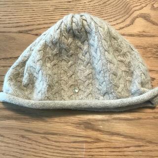 フルラ(Furla)のフルラ カシミア100% 帽子(ニット帽/ビーニー)