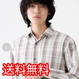 STUDIOUS - STUDIOUS ドビーチェックボックスシャツ サイズ1(S)108600003