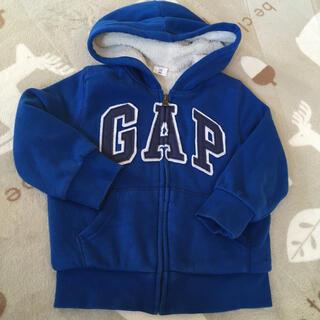ギャップキッズ(GAP Kids)のGAP babyボア パーカー 4years 105㎝(ジャケット/上着)