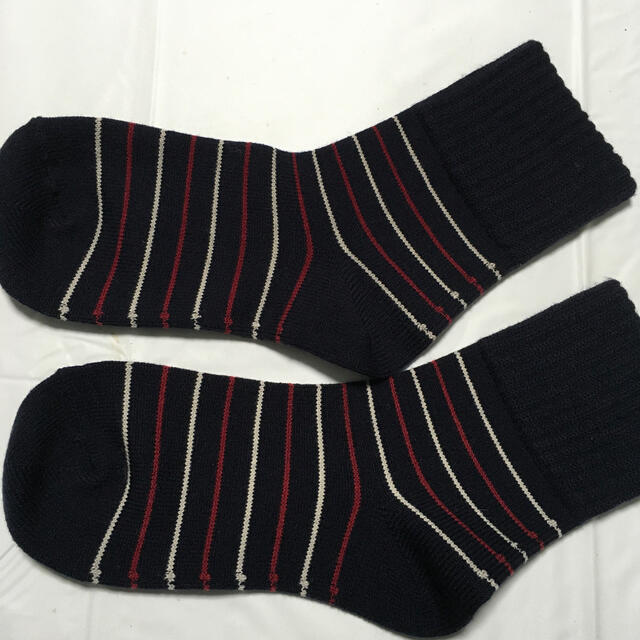 シャルレ(シャルレ)の足口ゆったりソックス、2足組み レディースのレッグウェア(ソックス)の商品写真