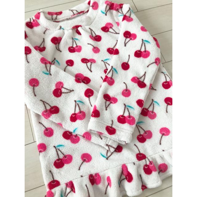 GU(ジーユー)のもこもこパジャマ キッズ/ベビー/マタニティのキッズ服女の子用(90cm~)(パジャマ)の商品写真