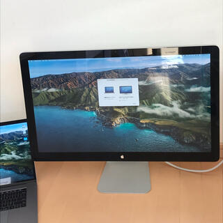 アップル(Apple)の送料無料!Apple Thunderbolt Display 27インチ(ディスプレイ)