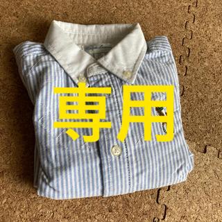 Ralph Lauren - Ralph Lauren  ストライプシャツ 80cm