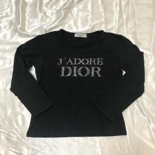 クリスチャンディオール(Christian Dior)のJadore Dior stone tee vintage black(Tシャツ(長袖/七分))
