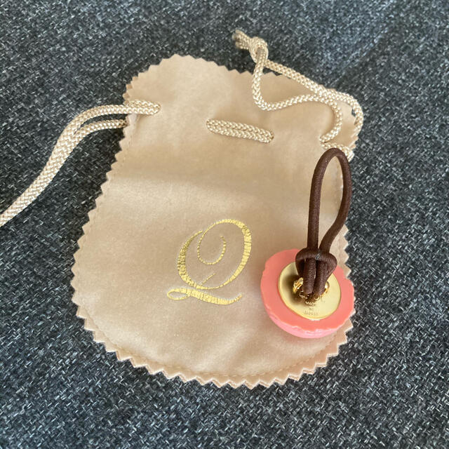 Q-pot.(キューポット)のジュテームマカロン ヘアゴム ハンドメイドのアクセサリー(ヘアアクセサリー)の商品写真