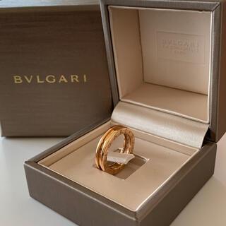 ブルガリ(BVLGARI)の【正規品】BVLGARI リング ビーゼロワン(リング(指輪))