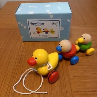 ファミリア(familiar)のファミリア 18ヶ月~ あひるのおやこ おもちゃ 木製  (知育玩具)