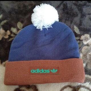 アディダス(adidas)のアディダス 帽子(ニット帽/ビーニー)