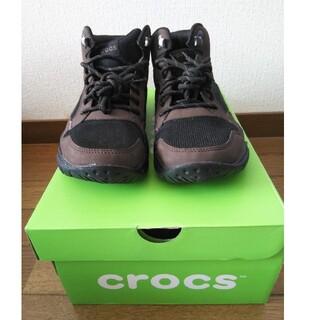 クロックス(crocs)のクロックス スィフトウォーターハイカットブーツ 25cm(ブーツ)