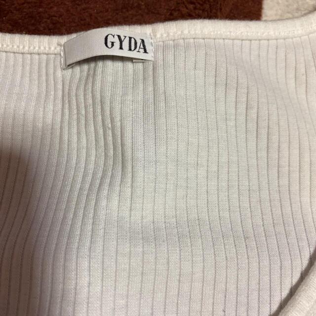 GYDA(ジェイダ)のGYDA トップス レディースのトップス(Tシャツ(半袖/袖なし))の商品写真