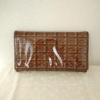 キューポット(Q-pot.)の新品未使用チョコレートトラベルウォレット(財布)