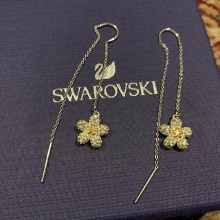 SWAROVSKI - スワロフスキー Swarovski tough flower ピアス